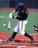 Ryan Olanda - la pastella di baseball connette con il passo Fotografie Stock
