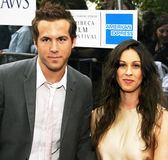 Ryan Reynolds and Alanis Morissette Stock Photography