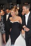 Ryan Reynolds & Blake Lively royaltyfri fotografi