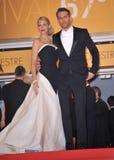 Ryan Reynolds & Blake Lively royalty-vrije stock foto