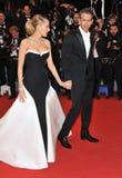 Ryan Reynolds & Blake Skoczny obrazy stock