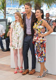 Ryan Reynolds & Mireille Enos & Rosario Dawson Royalty Free Stock Photos