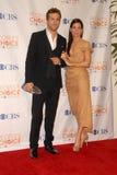 Ryan Reynolds, Sandra-Ochse lizenzfreies stockbild