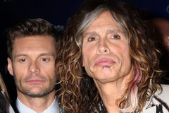 Ryan Seacrest, Steven Tyler Stock Photography
