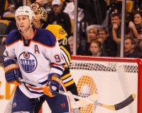 Ryan Smyth Edmonton Oilers Fotografie Stock