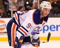 Ryan Smyth Edmonton Oilers Stock Photo