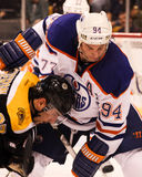 Ryan Smyth Edmonton Oilers Stock Photography