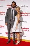 Ryan Sweeting and Kaley Cuoco-Sweeting Royalty Free Stock Photo