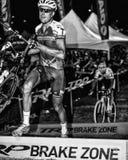 Ryan Trebon - Dwarsvegas Cyclocross stock foto's