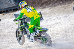 Ryan Villopoto at Monster Energy Cup 2015 Stock Photos