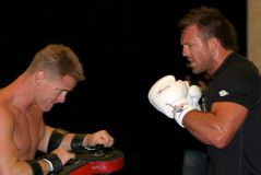 Ryan Wojownik Bader UFC zdjęcia royalty free