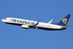 Ryanair波音737-800 库存图片