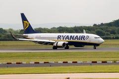ryanair 737 Боинг Стоковые Фотографии RF
