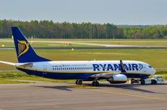 Ryanair 737 Στοκ εικόνα με δικαίωμα ελεύθερης χρήσης