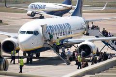 Ryanair Imagens de Stock Royalty Free