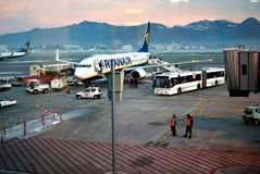 Ryanair stock photo