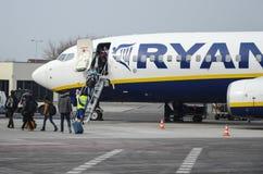 Ryanair Foto de archivo libre de regalías