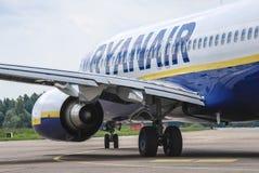 Ryanair fotografia stock