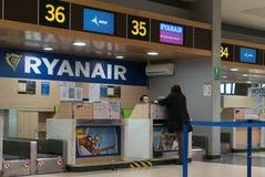 Ryanair royaltyfria bilder