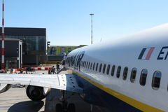 Ryanair aircraft Boeing 737-800 Stock Images