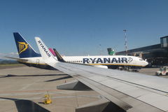 Ryanair aircraft Boeing 737-800 Royalty Free Stock Photography