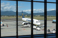 Ryanair aircraft Boeing 737-800 Stock Photography