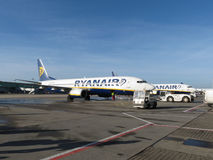 Ryanair aircraft Royalty Free Stock Images