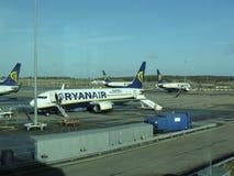 Ryanair aircraft Stock Photo