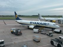 Ryanair aircraft Stock Photography