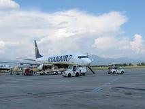 Ryanair aircraft Stock Image