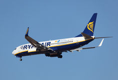 Ryanair Airlines aircraft Royalty Free Stock Photography