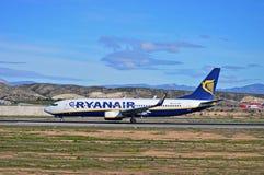 Ryanair Alicante Airport Stock Photography