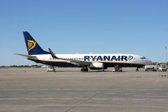 Ryanair Royalty Free Stock Images