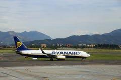 Ryanair arrival Royalty Free Stock Photos