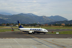 Ryanair arrival Royalty Free Stock Images