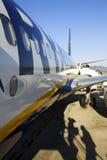 Ryanair Auszug Stockbilder