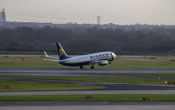 Ryanair Boeing 737 Fotografia Stock Libera da Diritti