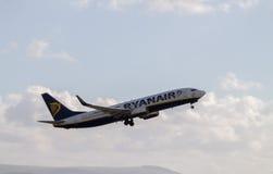 Ryanair Boeing 737 imagem de stock