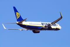 Ryanair Boeing 737-800 Lizenzfreie Stockfotografie