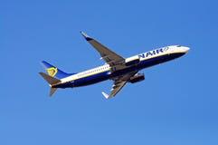 Ryanair Boeing 737-800 Fotografia de Stock