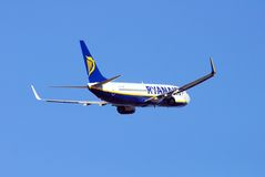 Ryanair Boeing 737-800 Imagens de Stock