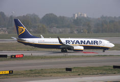 Ryanair Boeing 737 Image stock