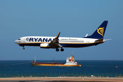 Ryanair Boeing 737-800 Royalty Free Stock Photography