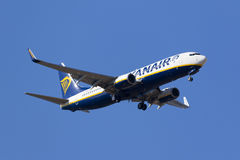 Ryanair Boeing 737-800 Arkivbilder