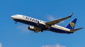 Ryanair, Boeing 737, aerei fotografia stock