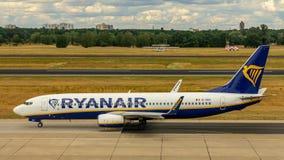 Ryanair, Boeing 737, aerei immagini stock