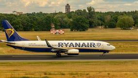 Ryanair, Boeing 737, aerei fotografia stock libera da diritti