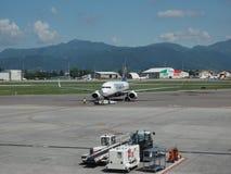 Ryanair Boeing 737-8AS garé à Bergame Orio Al Serio Photo stock