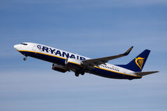 Ryanair Boeing 737-800 royalty free stock images