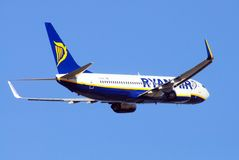 Ryanair Boeing 737-800. Royalty Free Stock Photography